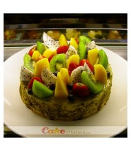 Cheesecake & Fresh Fruit