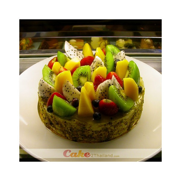 Cheesecake Fresh Fruit By Cake Bangkok Birthday Delivery